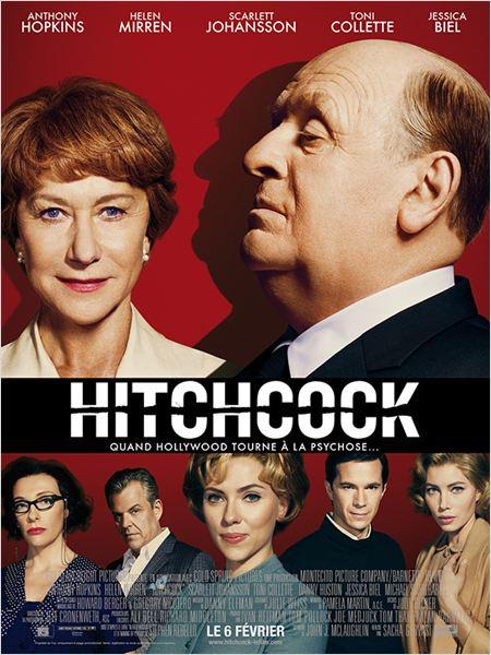 Affiche Hitchcock, de Sacha Gervasi (2013)
