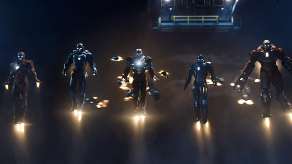 iron man 3-armors