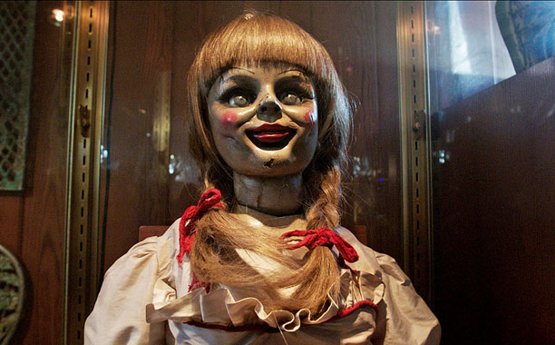 Chucky scared you? How cute...