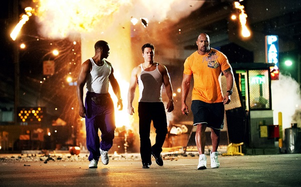 Yup. Walking away from an explosion like bad boys...