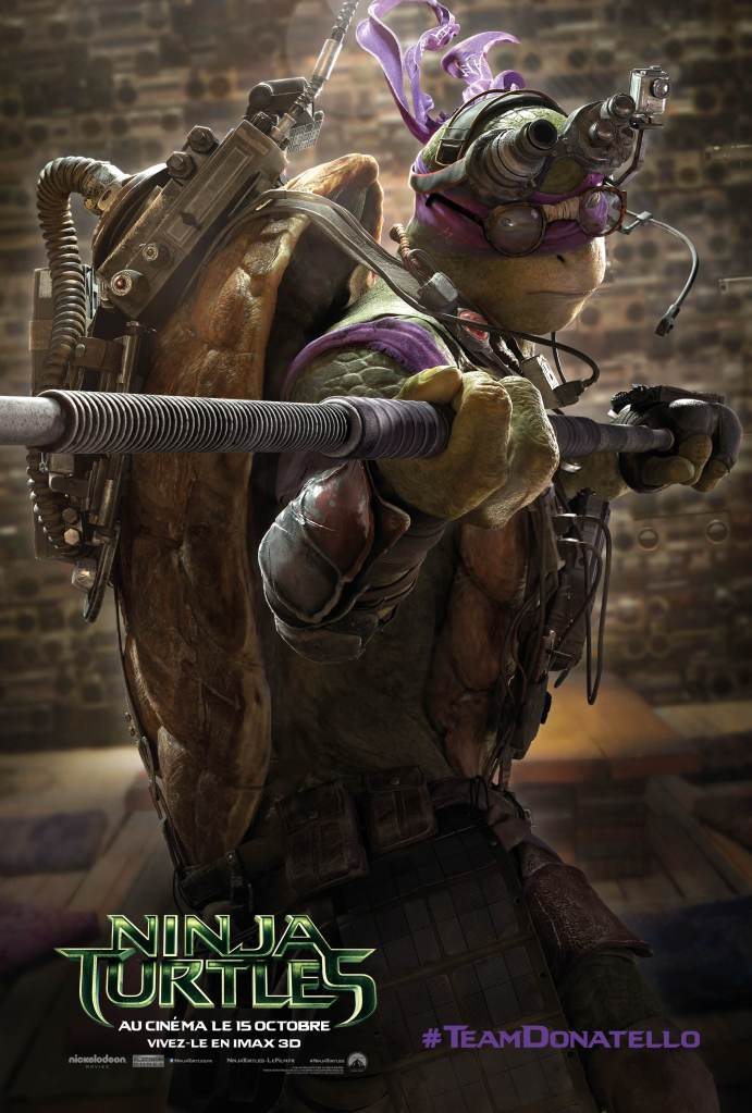 NINJA TURTLES - Donatello
