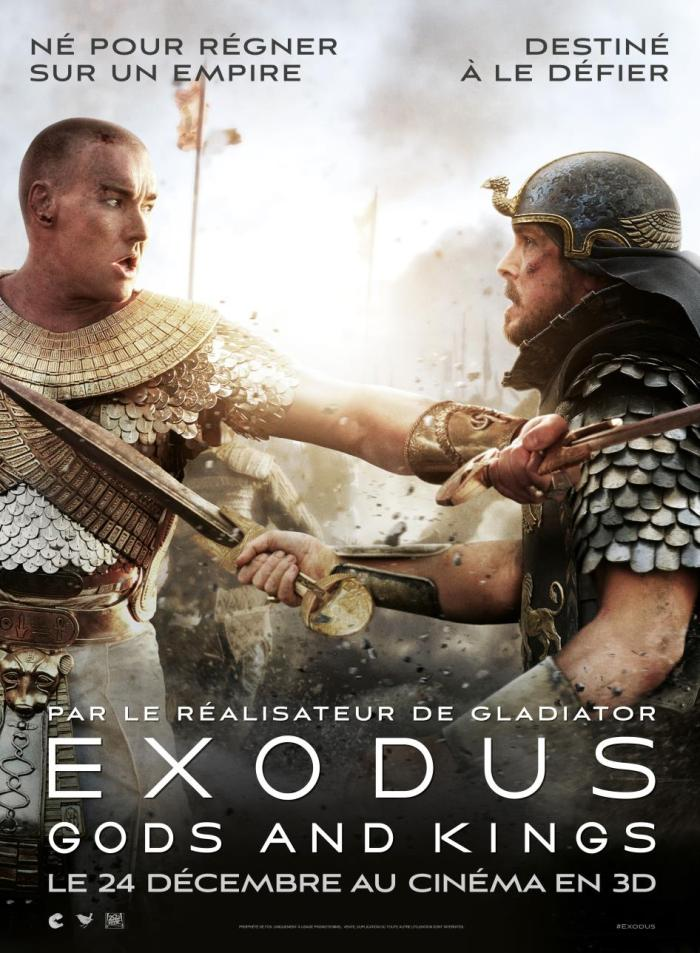 L'affiche d'EXODUS GODS AND KINGS