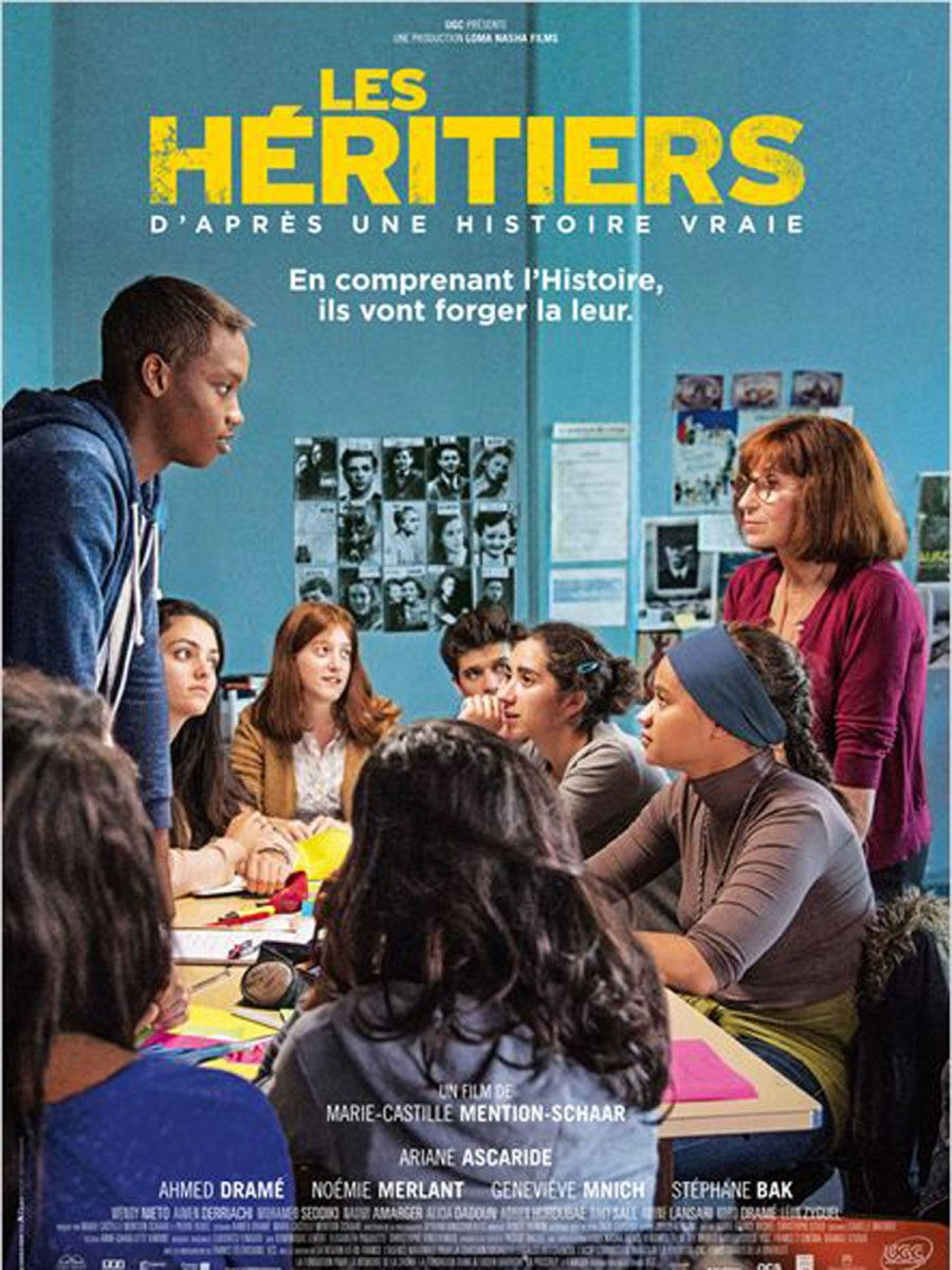 Les Héritiers : Comme un air de déjà-vu (Écrire Pour Exister à la française ?)