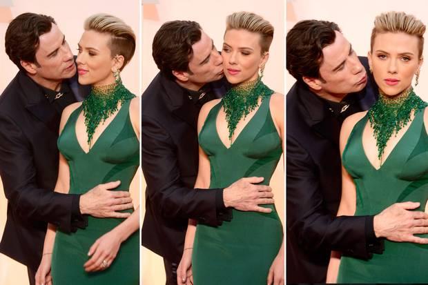 John Travolta était de la partie, évidemment U_U