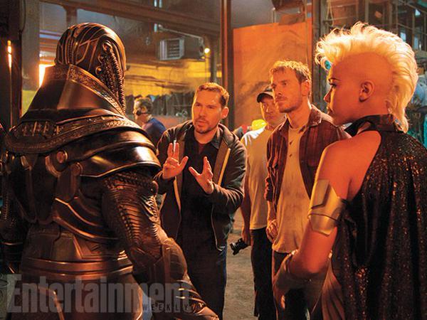 Bryan-Singer-tournage-X-Men-Apocalypse-Oscar-Isaac