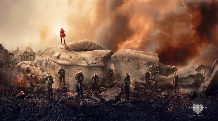 Banniere Hunger Games - La Révolte : Partie 2