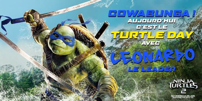 Turtle Day- Leonardo