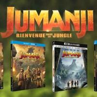 [CONCOURS] Jumanji - Bienvenue Dans La Jungle : Des DVD ou Blu-Ray du film à gagner