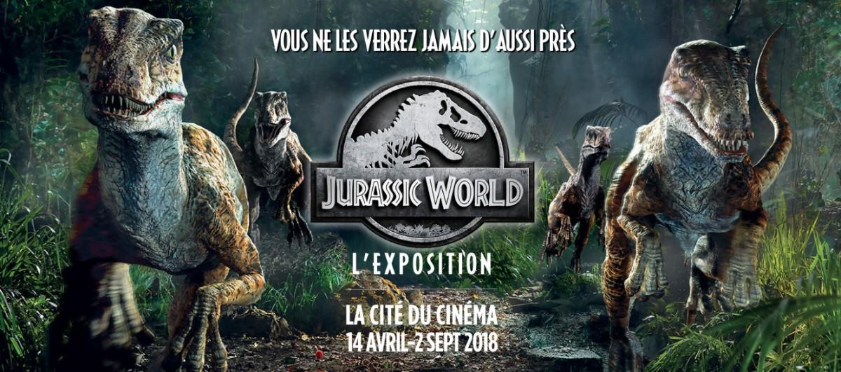 Jurassic World - L'Exposition : Le parc est ouvert !