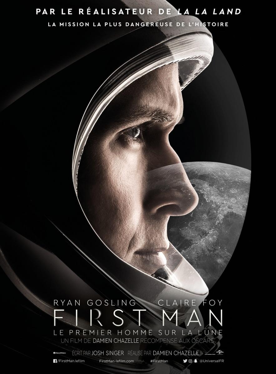 [CRITIQUE] First Man - Le Premier Homme Sur La Lune, de Damien Chazelle