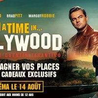 [CONCOURS] Once Upon A Time In Hollywood : Des places de cinéma et des cadeaux exclusifs à gagner !