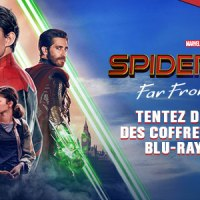 [CONCOURS] Spider-Man - Far From Home : Des coffrets bi-pack, Blu-Ray et DVD du film à gagner