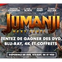 [CONCOURS] Jumanji : Next Level : Des Blu-ray, 4K, DVD et Coffrets à gagner